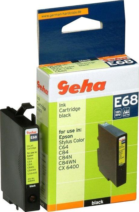 Geha E68 kompatibel Epson T044140 schwarz Stylus C64, C66, C84, C86, CX3500