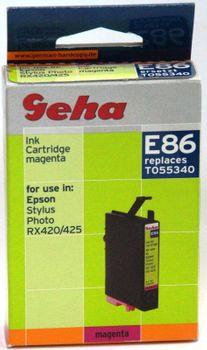 Geha E86 kompatibel Epson T055340 Magenta Stylus Photo R240, R245, RX420