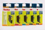 Geha Set 4+1 E65-E68 kompatibel Epson C64 C66 C84 C86 CX 6400 CX 6500 CX 6600 001