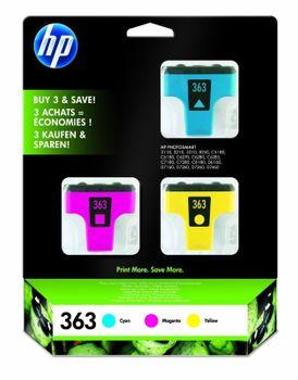 Original HP 363 Multipack c/m/y - CB333EE