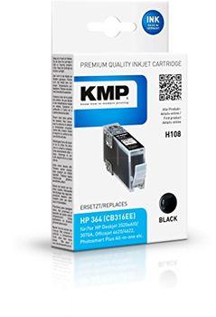 KMP H108 schwarz Tintenpatrone ersetzt HP 364
