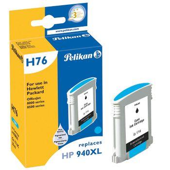 Pelikan H76 Tintenpatrone baugleich mit HP 940XL C, cyan (Pigmenttinte)
