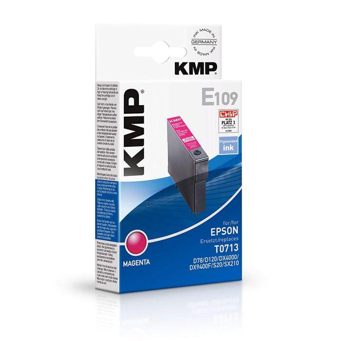 KMP E109 Tinte ersetzt Epson T0713 Magenta
