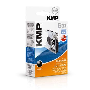 KMP B37 Tinte ersetzt Brother LC-1240 Kompatibel Schwarz 1524,0001