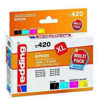 edding EDD-420 Multipack ersetzt Epson T1816 / 18XL