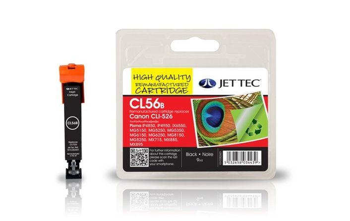 Jet Tec CL56B für Canon CLI-526 Schwarz