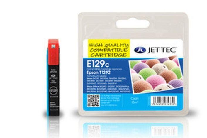 Jet Tec E129C für Epson T1292 Cyan