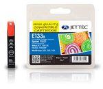 Jet Tec E133b Tintenpatrone kompatibel Epson T1331 Schwarz 001