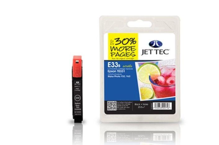 Jet Tec E33B für Epson T0331 Schwarz