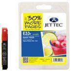 Jet Tec E33Y für Epson T0334 Gelb