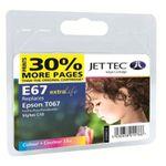 Jet Tec E67 Epson T067 Colour Epson C48 001