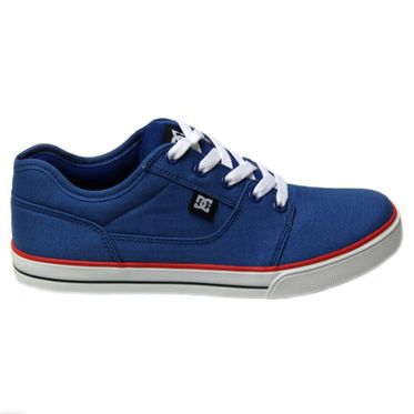 DC Shoes Kids Bristol Canvas Royal/Black/Red 303324B