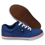Preview 2 DC Shoes Kids Bristol Canvas Royal/Black/Red 303324B