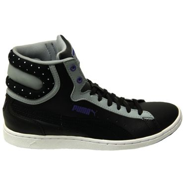 Puma First Round Super LCity Wn's Black-Quarry-Violet Storm