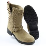 Preview 3 Pepe London Stiefel/Stiefelette PIM-283 B Studs Mid Boot Beige