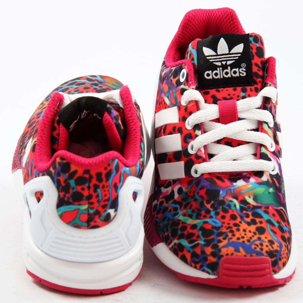 57929494a1e ... Preview 3 Adidas Kinder/Kids Sneaker ZX Flux EL1 FtwWht/FtwWht/BoPink  M19403 ...