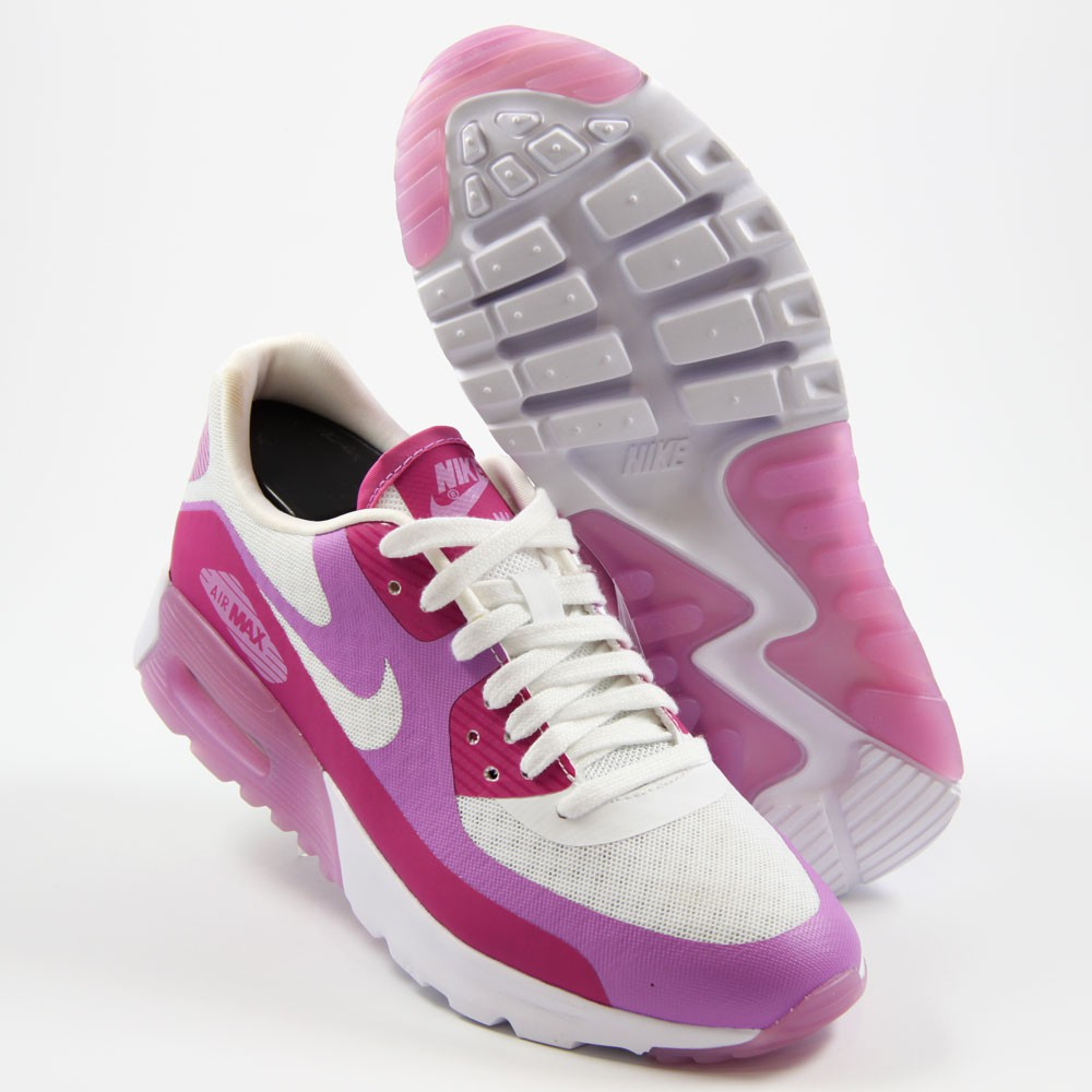 check out 657d6 e916e ... Preview 2 Nike Damen Sneaker Air Max 90 Ultra BR WhiteFuchsia  Glow-Fchs ...