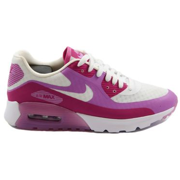 Nike Damen Sneaker Air Max 90 Ultra BR White/Fuchsia Glow-Fchs Flash