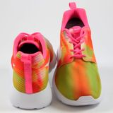 Preview 3 Nike Damen Sneaker Roshe One Flight Weight Pink Pow/White
