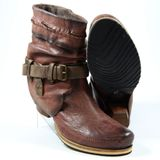 Preview 2 XYXYX Damen Stiefel/Stiefelette XY38009.01 Bordo Brown