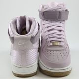 Preview 3 Nike Damen Sneaker WMNS Air Force 1 HI PRM Bleached Lilac/Bleached Lilac