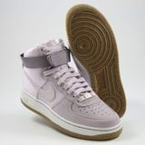 Preview 2 Nike Damen Sneaker WMNS Air Force 1 HI PRM Bleached Lilac/Bleached Lilac