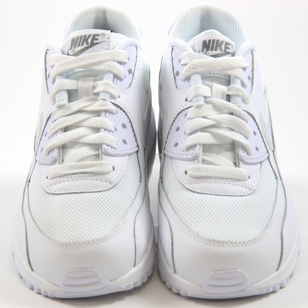 nike damen sneaker air max 90 mesh white white cool grey. Black Bedroom Furniture Sets. Home Design Ideas