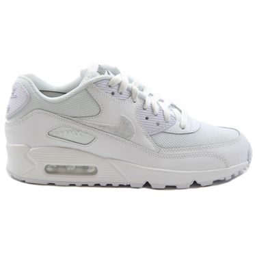 Nike Damen Sneaker Air Max 90 Mesh White/White-Cool Grey