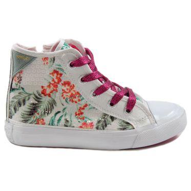 Replay Kinderschuhe Knöchel-Sneaker Fulton GBV0800062T White