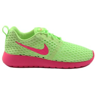 Nike Damen Sneaker Roshe One Flight Weight Ghost Green/Pink Blast