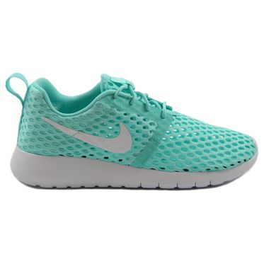 Nike Damen Sneaker Roshe One Flight Weight Hyper Turq/White