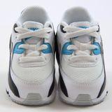 Preview 4 Nike Kinder Sneaker Air Max 90 Mesh TD White/Neutral Grey-Blck-Bl Lgn