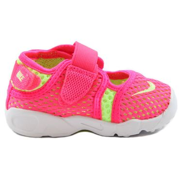 Nike Kinder Sneaker Little Rift BR TD Hyper Pink/Ghost Green-White