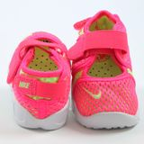 Preview 3 Nike Kinder Sneaker Little Rift BR TD Hyper Pink/Ghost Green-White