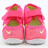 Preview 4 Nike Kinder Sneaker Little Rift BR TD Hyper Pink/Ghost Green-White