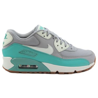 Nike Damen Sneaker Air Max 90 Essential Wolf Grey/Barely Green