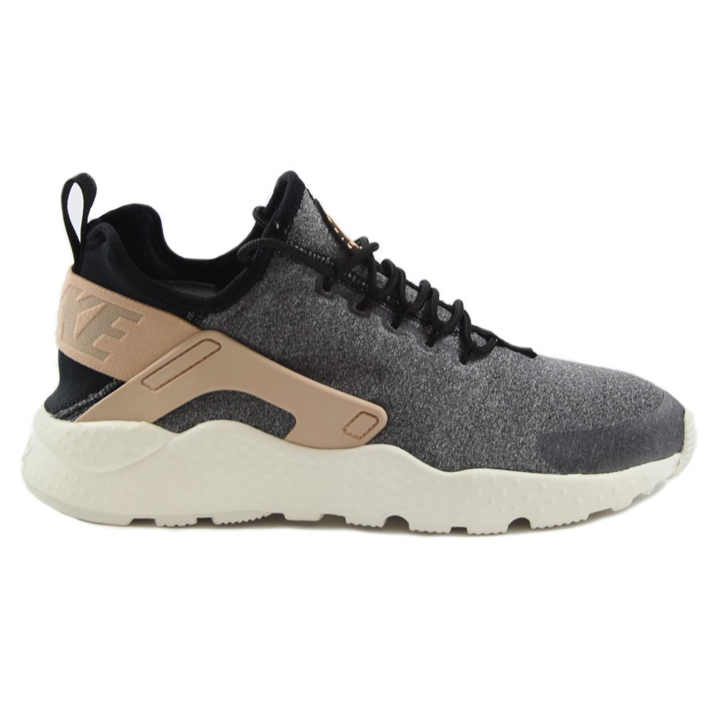 fcf3d3930cf2e8 Preview 1 Nike Damen Sneaker Air Huarache Run Ultra SE Black Black-Vachetta  Tan ...