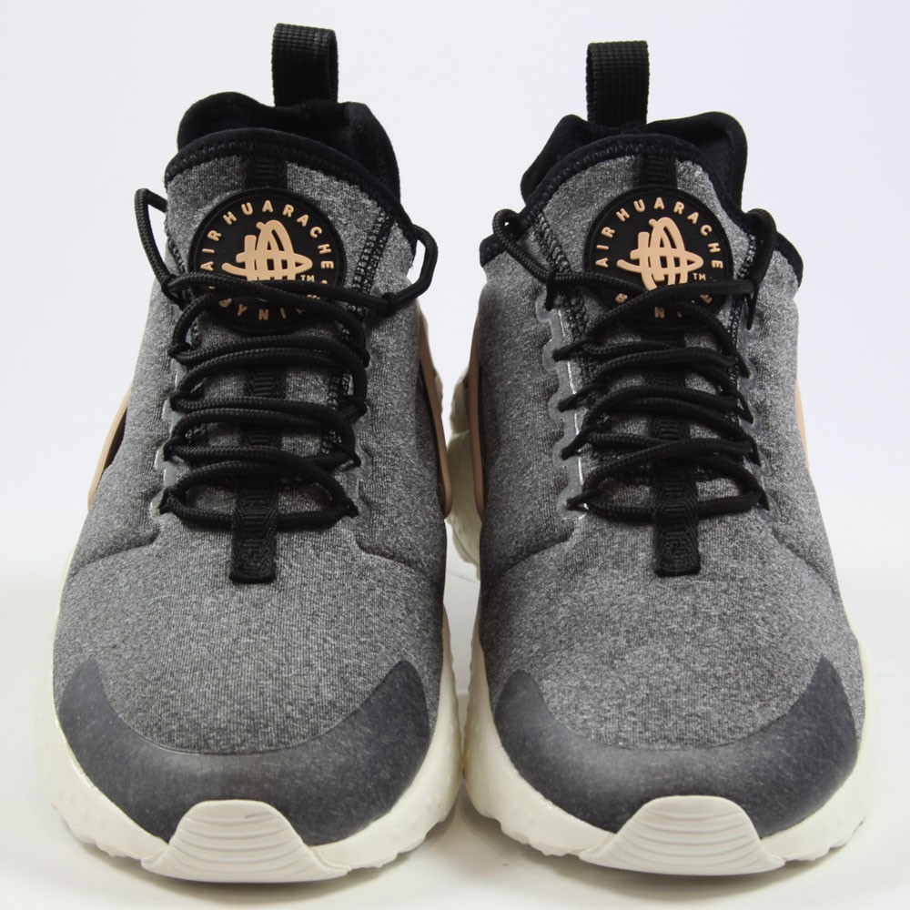 5931d0d9e7eddd ... Preview 4 Nike Damen Sneaker Air Huarache Run Ultra SE Black Black-Vachetta  Tan