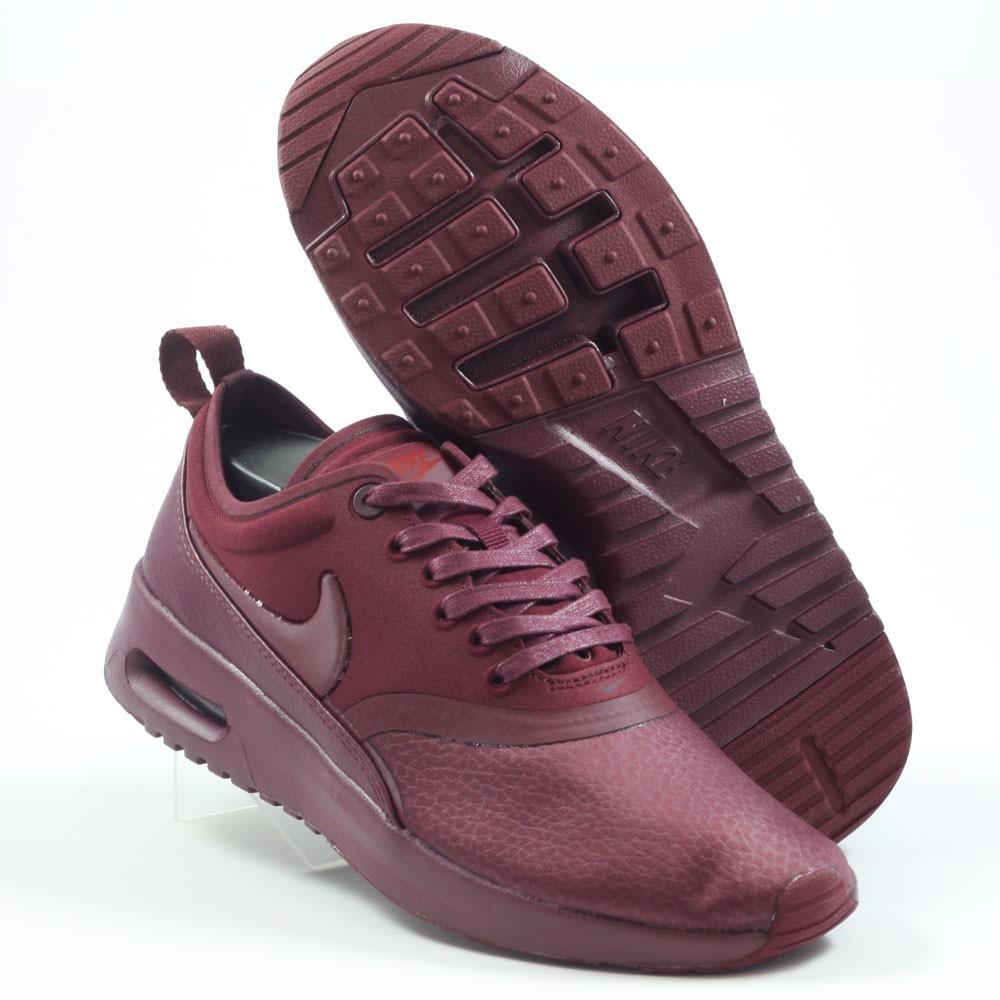 chaussures de séparation eed83 ac97f Nike Damen Sneaker Air Max Thea Ultra PRM Night Maroon/Night ...