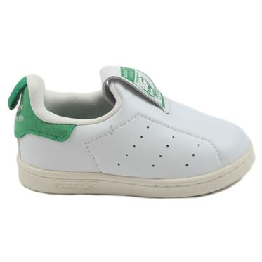 Adidas Kinder Sneaker Stan Smith 360 FtwWht/FtwWht/Green S75221
