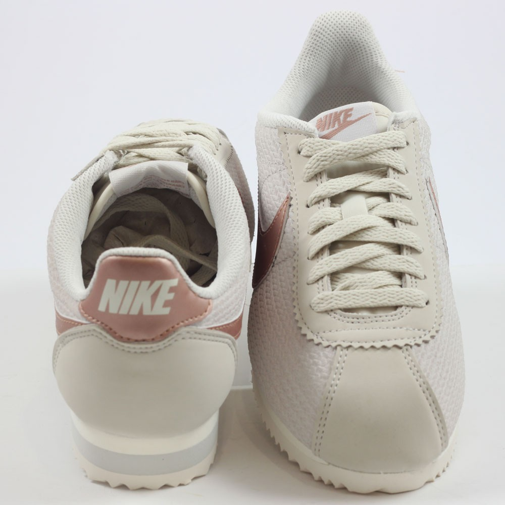 ... Preview 3 Nike Damen Sneaker Classic Cortez Leather Lux Light Bone Mtlc  Red Bronze ... 0ebcbb90b1