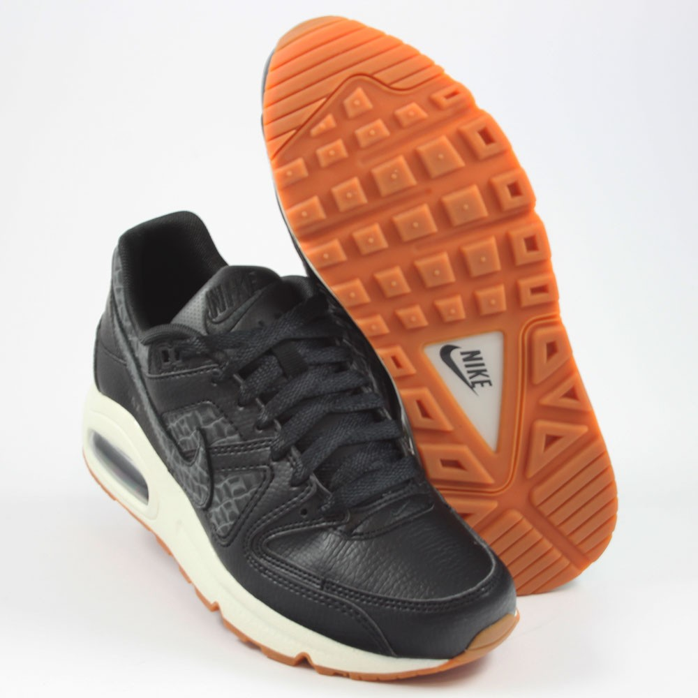 Nike Damen Sneaker Air Max Command PRM BlackBlack Sail Gum