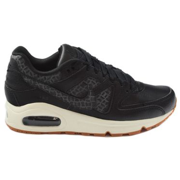 Nike Damen Sneaker Air Max Command PRM Black/Black-Sail-Gum Med Brown