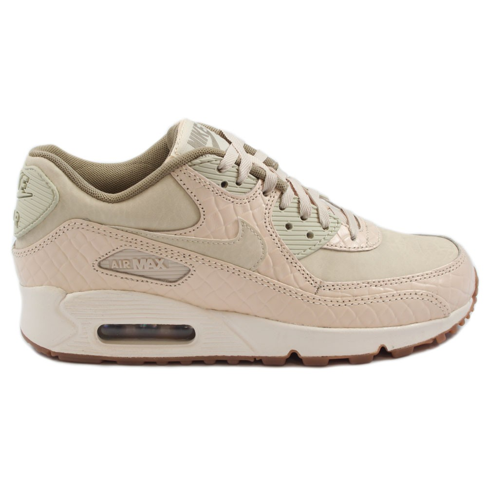 on sale good out x closer at Nike Damen Sneaker Air Max 90 PREM Oatmeal/Oatmeal-Sail-Khaki