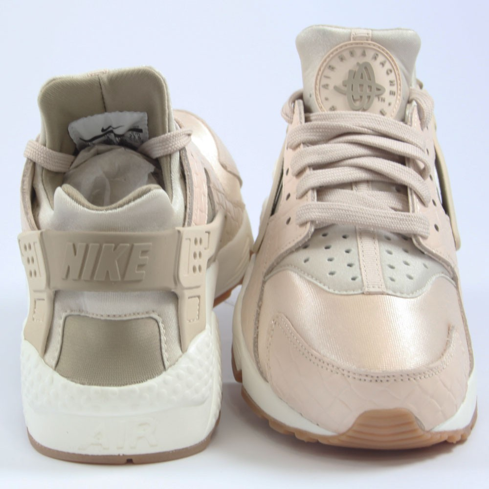 ... Preview 3 Nike Damen Sneaker Air Huarache Run PRM Oatmeal Khaki-Sail  Preview 4 ... b30fe9cb2c