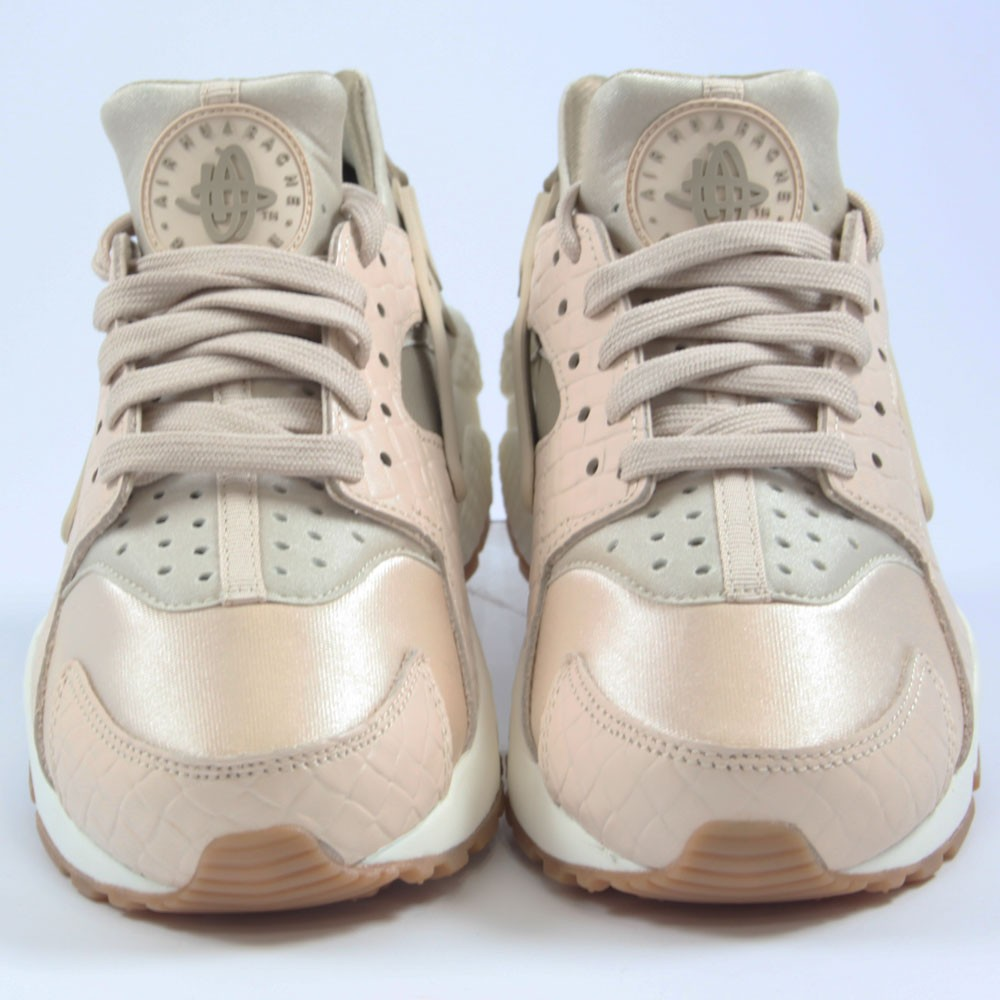 ... Preview 4 Nike Damen Sneaker Air Huarache Run PRM Oatmeal Khaki-Sail c108975d4d
