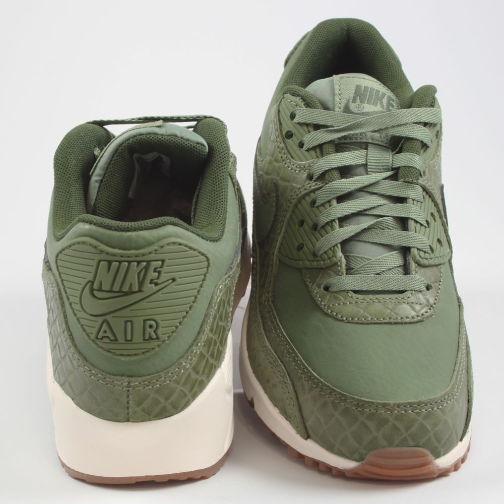 Nike Damen Sneaker Air Max 90 PREM Palm Green/Palm Green-Sail