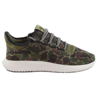 Adidas Herren Sneaker Tubular Shadow OliCar/VinWht/CBlack BB8818