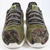 Preview 4 Adidas Herren Sneaker Tubular Shadow OliCar/VinWht/CBlack BB8818