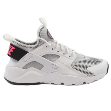 Nike Damen Sneaker Air Huarache Run Ultra White/Black-Pink Blast